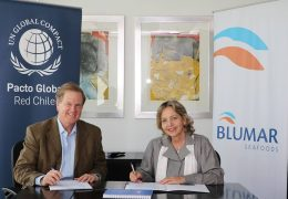 Blumar, primera empresa salmonera en adherir a Red Pacto Global Chile