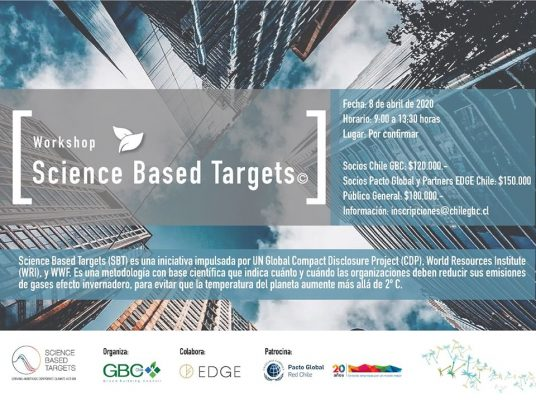 Workshop Science Based Targets - Chile Green Building Council