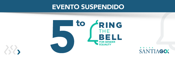 5to Ring the Bell for Gender Equality - SUSPENDIDO