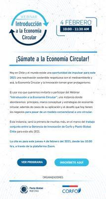 Webinar: Introducción a la Economía Circular
