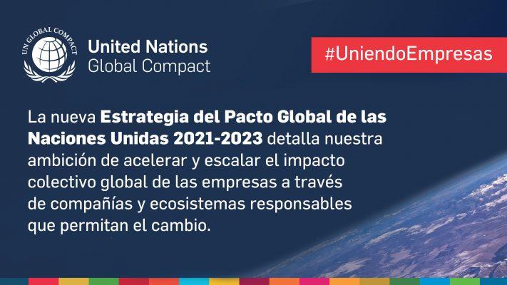 Nueva estrategia de Pacto Global de la ONU