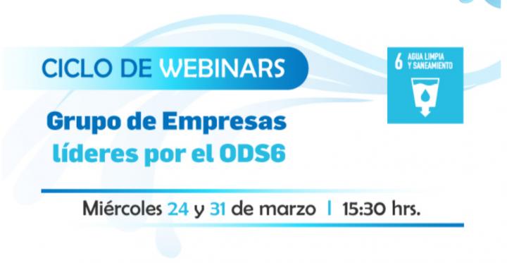 Sesión 2: Ciclo de Webinars Grupo de Empresas líderes por el ODS6