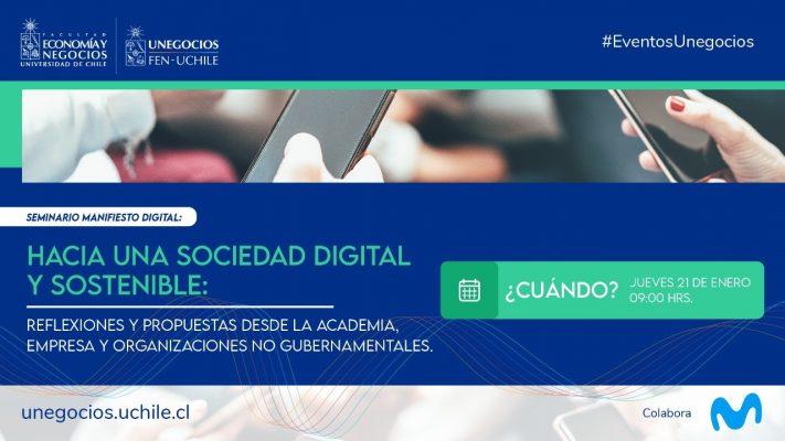 Seminario Manifiesto Digital: Hacia una sociedad digital y sostenible