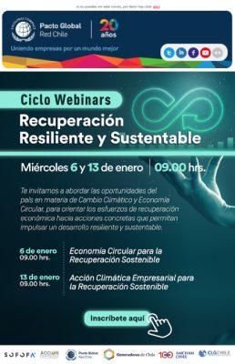 Ciclo Webinars: Recuperación Resiliente y Sustentable