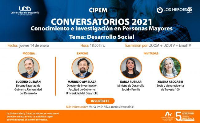 II CONVERSATORIO CIPEM 2020 Tema: Desarrollo Social