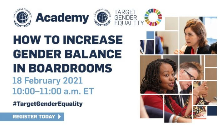 Academy: How to increase gender balance in boardrooms (TGE)