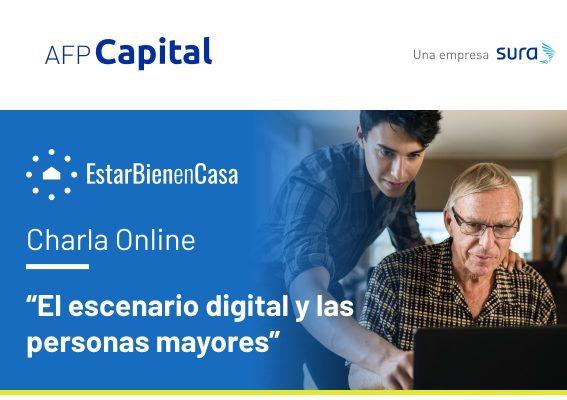Charla: El escenario digital y las personas mayores