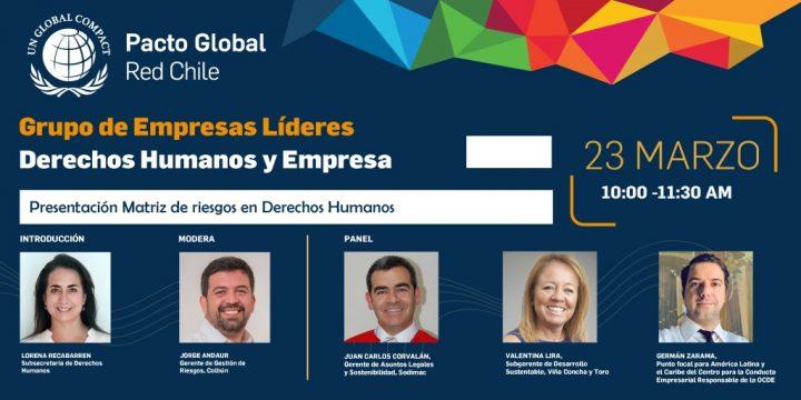"""Grupo de Empresas Líderes por los DD.HH. """"Presentación Matriz de riesgos en Derechos Humanos"""""""
