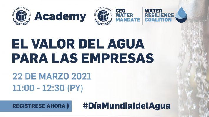 """Academy: """"El valor del agua para las empresas"""""""