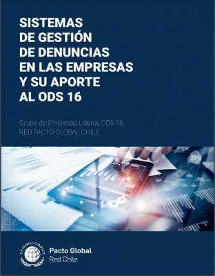 Pacto Global Chile realiza informe que analiza canales de denuncias y releva sus impactos
