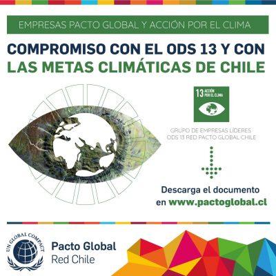 Empresas de Pacto Global Chile miden su compromiso para combatir el cambio climático