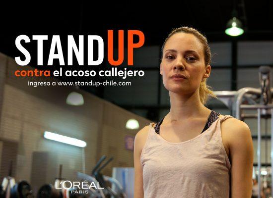 L'Oréal Paris lanza en Chile el programa mundial Stand Up Contra el Acoso Callejero