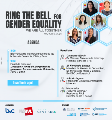 Ring the Bell for the Gender Equality