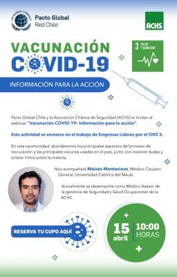 """ODS 3: """"Vacunación COVID-19: información para la acción"""""""