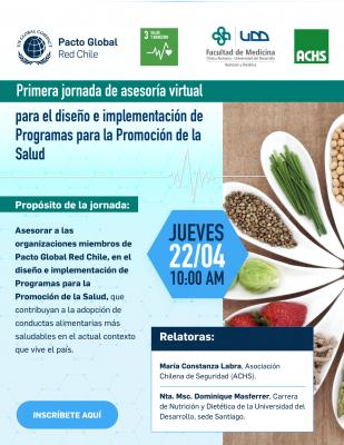 Asesoria Virtual para el diseño e implementación de Programas para la Promoción de la Salud