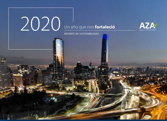 Aceros AZA presenta Reporte de Sostenibilidad 2020