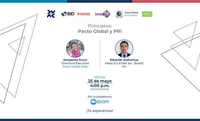 Principios: Pacto Global y PRI