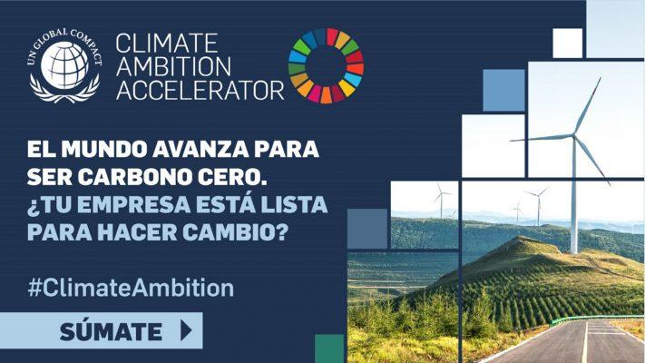 Pacto Global Chile lanza Programa Climate Ambition Accelerator