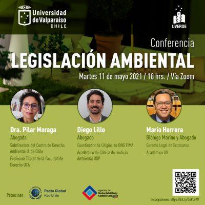 """Conferencia UVerde: """"Legislación Ambiental"""""""
