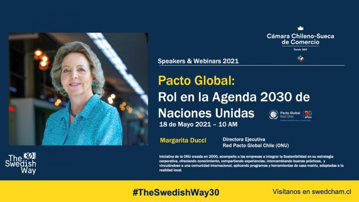 """Webinar """"Pacto Global: Rol en la Agenda 2030 de Naciones Unidas"""""""