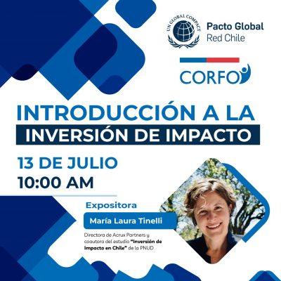 """CORFO: """"Inversión de Impacto en Chile"""""""
