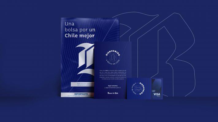 Banco de Chile lanza bolsas compostables y tarjetas de plástico reciclado en un nuevo kit sustentable