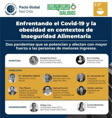 Expertos alertan por pandemia de obesidad en Cumbre sobre sistemas alimentarios y Covid-19