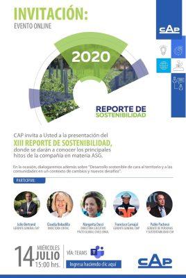 Presentación Reporte de Sostenibilidad CAP