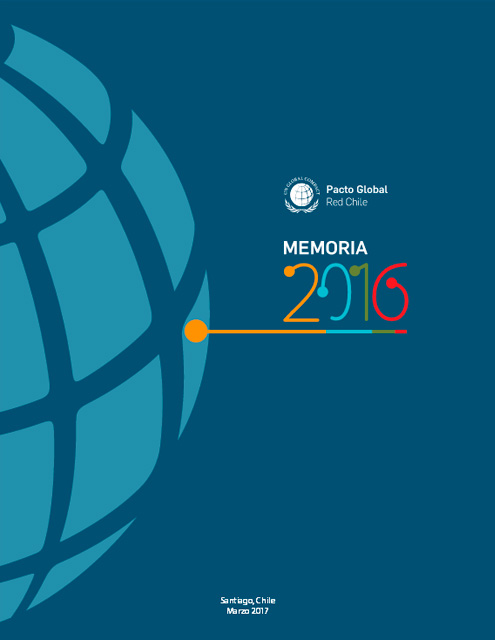 Memoria Red Pacto Global Chile 2016